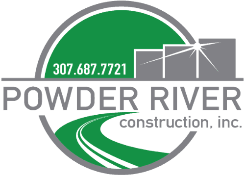 powder river construction logo