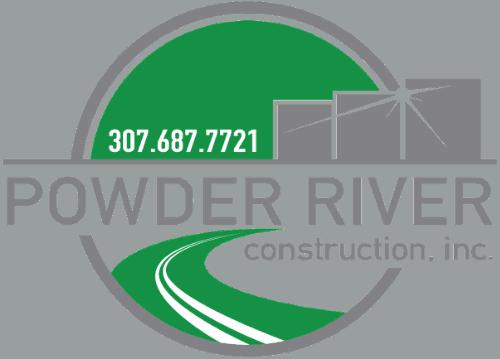 powder river construction logo