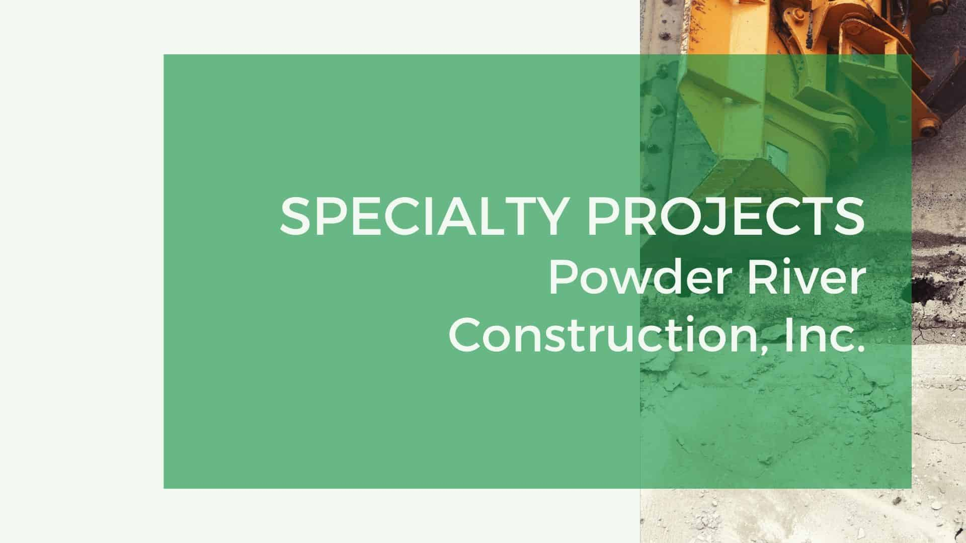 prc speciality projects